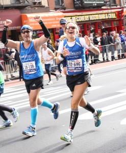 Corredores Banco Mediolanum en la Maratón de Nueva York 2013