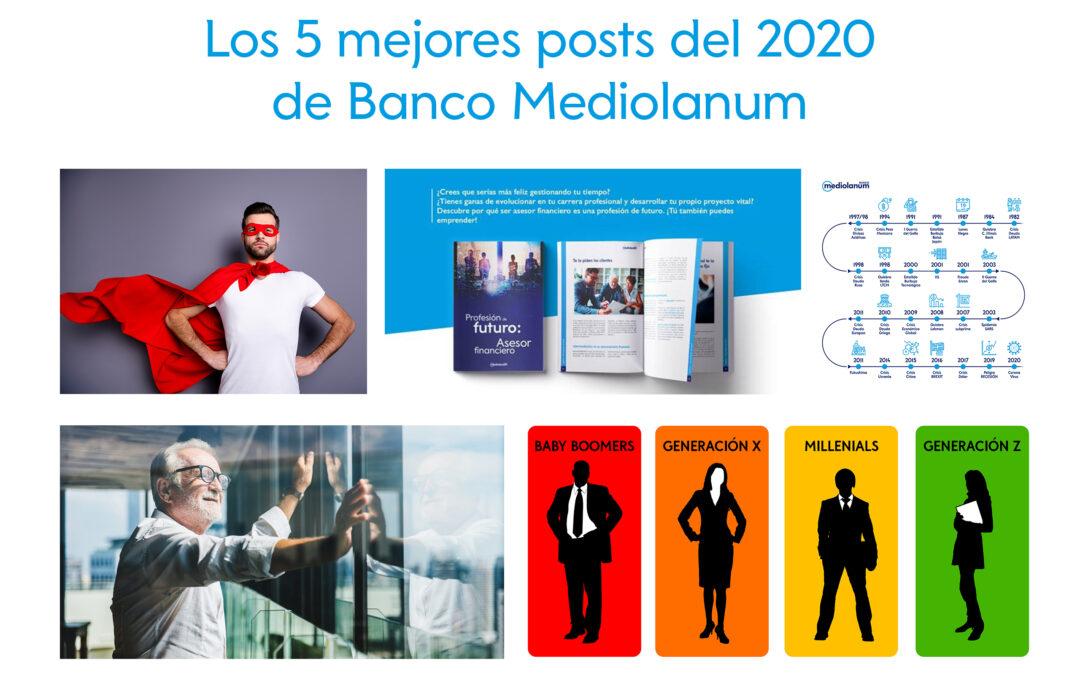 ¿Te lo perdiste? Estos son los 5 posts más leídos de 2020 de Banco Mediolanum